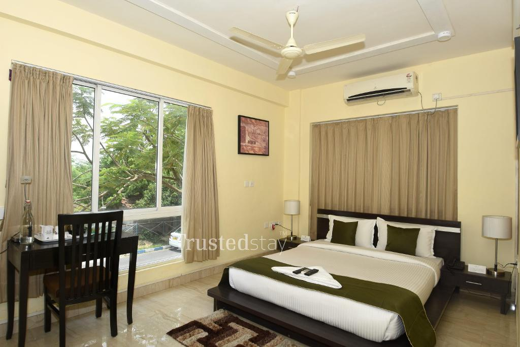 Bedroom |  Fully furnished Service apartments in New Town Kolkata